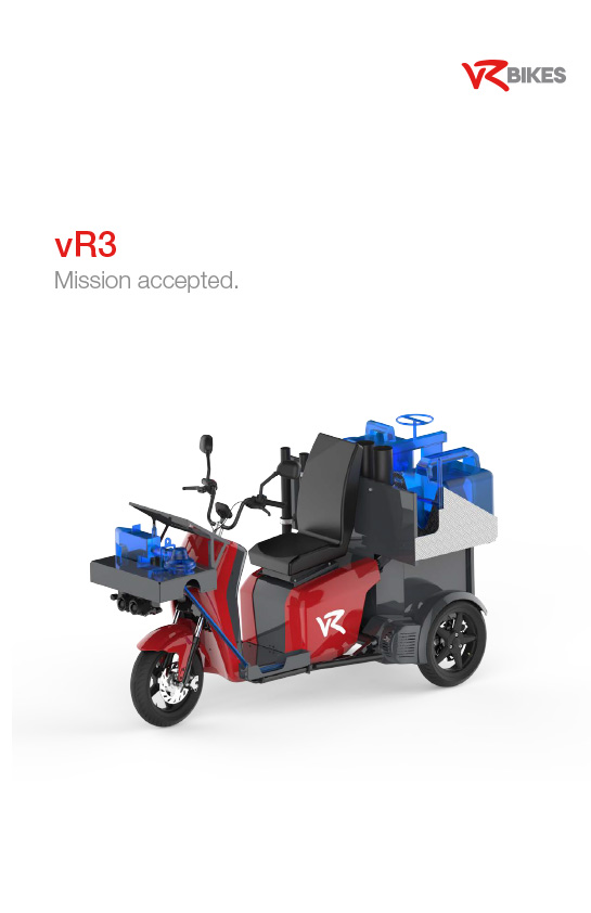 Download brochure vR3 - service vehicle as a PDF
