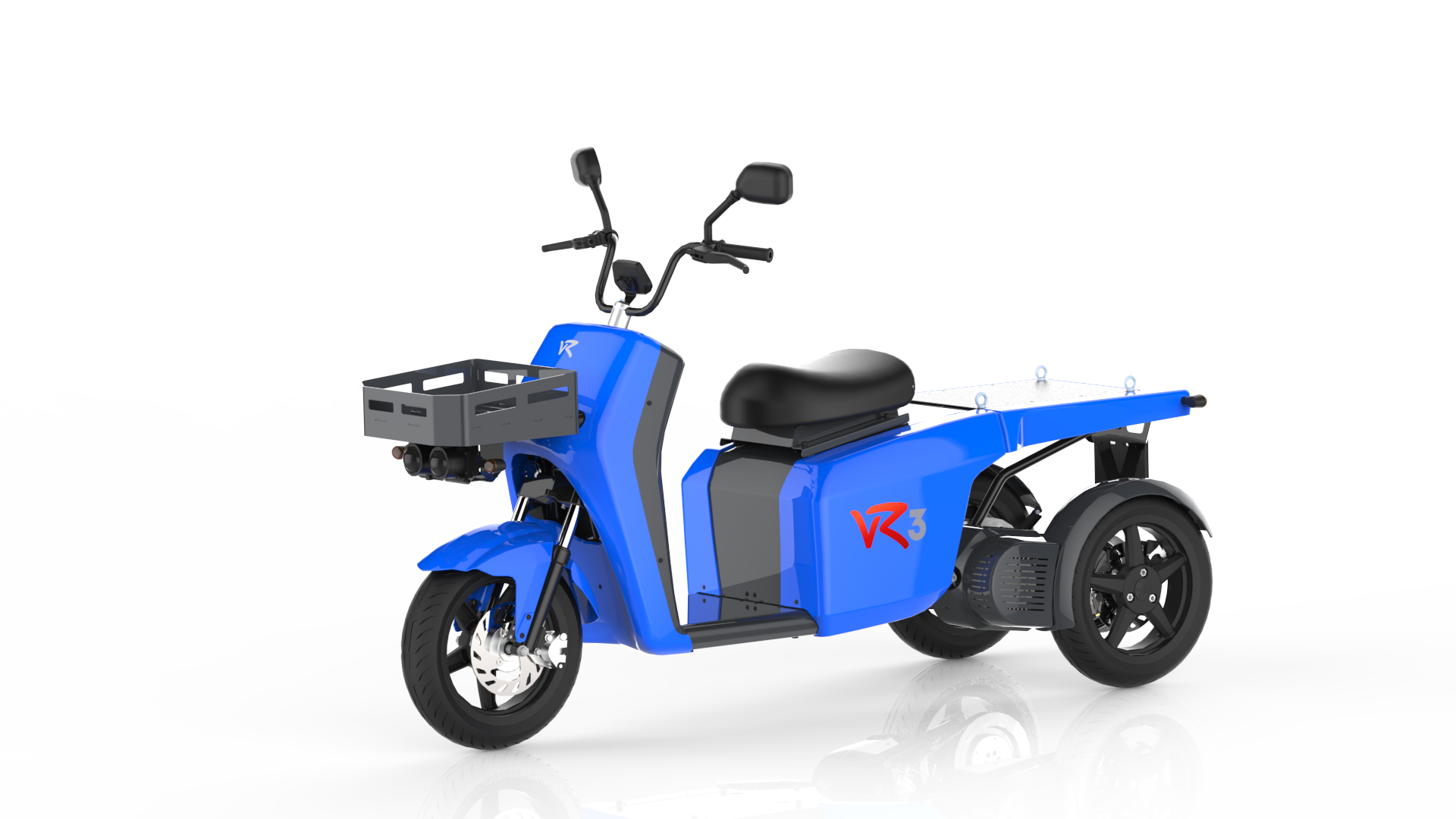 The vR3 electric tricycle as a vehicle for senior citizens and an alternative second car