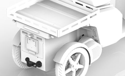 Trailer kit for the vR3 electric tricycle