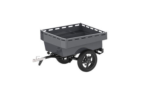 The modular trailer system  for the most challenging tasks.